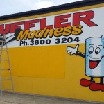 Muffler Madness 2015 Hand painted