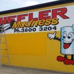 Muffler Madness 2015 Hand painted