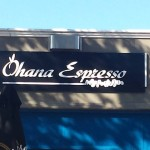 Ohana Express artwork and signage 2