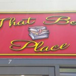 That Book Place Routered Signage 2